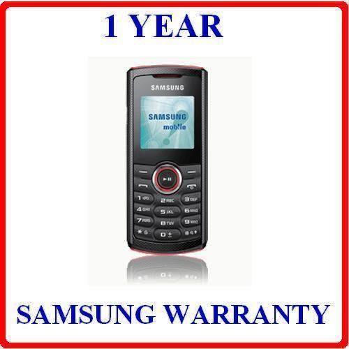 samsung e2120 b mobile phone wireless fm warranty
