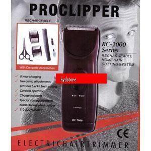 men electronic trimmer proclipper shaver hair beard new. Black Bedroom Furniture Sets. Home Design Ideas